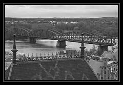 Pont Józef Piłsudski, sobre el Vístula, a Toruń