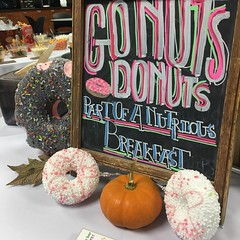"""Donuts • <a style=""""font-size:0.8em;"""" href=""""http://www.flickr.com/photos/186296875@N03/49323026473/"""" target=""""_blank"""">View on Flickr</a>"""