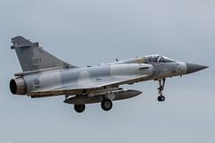 Dassault Mirage 2000-5Ei RoCAF 2001, 2nd TFW, on final approach at Hsinchu AB (Jeroen.B) Tags: 2019 roc rocaf republicofchina taiwan 中華民國空軍 dassault mirage 2000 20005 20005ei 2001 ei01 hsinchu rcpo