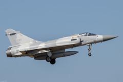 Dassault Mirage 2000-5Ei RoCAF 2027, 2nd TFW, on final approach at Hsinchu AB (Jeroen.B) Tags: 2019 roc rocaf republicofchina taiwan 中華民國空軍 dassault mirage 2000 20005 20005ei 2027 ei17 hsinchu rcpo
