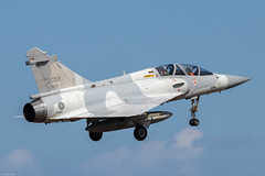Dassault Mirage 2000-5Di RoCAF 2059, 2nd TFW, on final approach at Hsinchu AB (Jeroen.B) Tags: 2019 roc rocaf republicofchina taiwan 中華民國空軍 dassault mirage 2000 20005 20005di 2059 di09 hsinchu rcpo