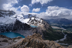 Mt. Fitz Roy, Patagonia (StarCitizen) Tags: fitzroy elchalten patagonia argentina mountains clouds snow ice glacier lake water sky elitegalleryaoi bestcapturesaoi aoi ngc npc