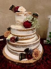 image2 (backhomebakerytx) Tags: backhomebakery back home bakery texas texasbakery cake wedding bride bridalcake three tier flowers