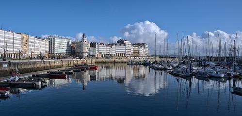 A Coruña y el mar