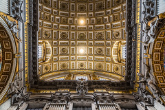 At the end of the day, this has always been a question of style. (catrall) Tags: italy italien rome rom roma italia nikon d750 fx dslr sigma lens art 24105 architecture roman architektur ancient antik alt old history geschichte eternal pillars säulen vatikan vatikanstadt vatikanstaat vaticano petersdom kuppel dome white grey black golden