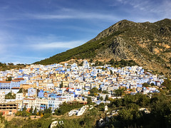 Blue City, Chefchaouene, Morocco, 摩洛哥 (cattan2011) Tags: 摩洛哥 exploringthemorocco traveltuesday travelbloggers travelphotography travelphoto travel mountains mountainscape buildings architecturephotography architecture landscapephotography landscape bluemorocco bluecity morocco chefchaouene