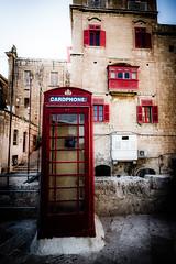 Red, Red, Red ... (vale0065) Tags: red phone telephone payphone rood telefoon phoneboot valletta valetta telefooncel valleta cardphone old city island malta capitol oud stad eiland hoofdstad retro retrostyle telephoneboot telephonecabine phonecabine