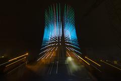 Tour 3 (Tales of Light - Urbex) Tags: nightphotography night zoom tamron nikon colors belgium brussels lights powerplant city exploration urban