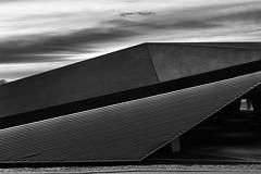 Futuristic Zollverein (frankdorgathen) Tags: alpha6000 sonyzeiss24mm monochrome blackandwhite schwarzweiss schwarzweis gebäude building architecture architektur ruhrgebiet ruhrpott ruhrarea stoppenberg essen coalmining bergbau zechezollverein