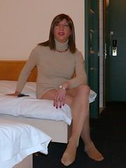 At the hotel (Alessia Cross) Tags: crossdresser tgirl transgender transvestite travestito