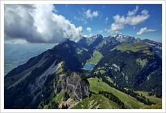 ein ganz schön hoher Kasten (Norbert Kaiser) Tags: schweiz switzerland alpen alps alpstein appenzelleralpen fälensee aussicht hoherkasten gebirge rheintal alpenrheintal säntis landschaft landscape