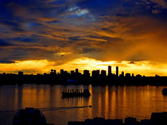 New Year's Day sunset drama over Vancouver (+2) (peggyhr) Tags: peggyhr sunset clouds harbour skyline freighter dsc05569a vancouver bc canada super~sixbronze☆stage1☆ carolinasfarmfriends helicopter blue golden shadows silhouettes super~sixsilver2 super~sixgold3 super~six☆stage4☆art 50faves super~six☆stage5☆elite super~six☆stage6☆andromeda50