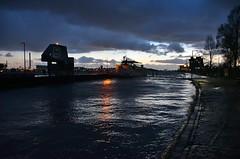 Vlaardingen hoogwater (Hugo Sluimer) Tags: vlaardingen nacht nachtfotograaf nachtfotografie nachtfoto vlaardingem zuidholland holland nederland nikon nikond500 d500