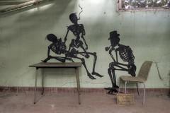 Usine Skeleton (notanaddict321) Tags: graffiti graffitti usine factory abandoned abadonedplaces art kunst decay désaffecté destroyed derelict verlassen verfall vergessen vide leerstehend lostplace lost abandonné