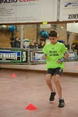 46792 - Run (Diego Rosato) Tags: boxe boxing pugilato boxelatina criterium giovanile young little boxer piccolo pugile nikon d700 tamron 2470mm rawtherapee run corsa