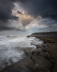 Tempest (willblakeymilner) Tags: sea seascape clouds storm coast north ocean waves water dramatic light contrast nature yorkshire england nikon