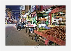 Night street photography (Rajavelu1) Tags: india art availablelight creative streetphotography handheld colourstreetphotography g7xmark2 nightnightstreetphotography streetscene streetfood candidstreetphotography artdigital handheldnightphotography