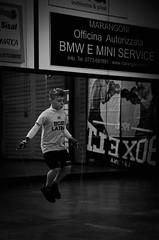 46917 - Rope (Diego Rosato) Tags: criterium giovanile young boxe boxing pugilato boxelatina little boxer piccolo pugile nikon d700 tamron 2470mm rawtherapee bianconero blackwhite rope corda salto jump
