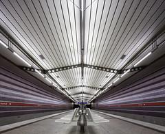 and the passenger saw (yushimoto_02 [christian]) Tags: harthof munich münchen muenchen architecture subway station ubahn