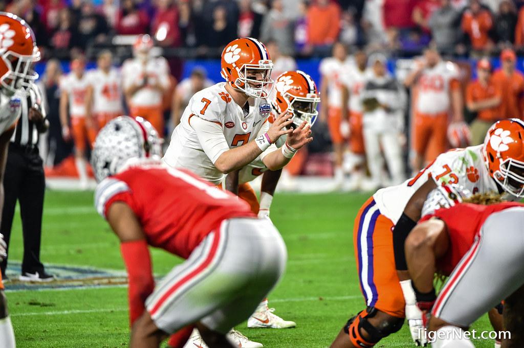 Clemson Photos: Chase  Brice, 2019, Football, ohiostate