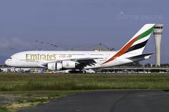 A6-EUI A380 EMIRATES YBBN (Sierra Delta Aviation) Tags: emirates a380 airbus brisbane airport ybbn a6evi