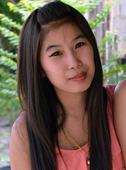 pretty woman (the foreign photographer - ฝรั่งถ่) Tags: pretty young woman khlong thanon portraits bangkhen bangkok thailand nikon d3200