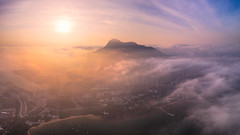Wu Kai Sha sea of cloud (3dgor 加農炮) Tags: cloud hongkong seaofclouds drone wukaisha shatindistrict mavic2pro