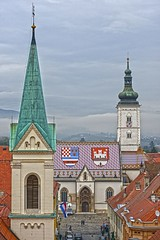 St Mark's Church Zagreb Croatia DSC_7485 (JKIESECKER) Tags: cityscenes cityscapes churches zagreb croatia