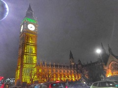 London (Onasill ~ Bill Badzo - New Format) Tags: london england bigbem great bell clock tower monument historic night capture photo palace westminster united kingdom onasill elizabeth diamond jubilee ll renamed 1859 clockmaker westworth 150 attraction site tourist travel years british culture symbol iconic moon