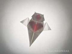 クリオネ / Clione (Gen Hagiwara) Tags: origami paper folding craft art paperart papercraft genhagiwara clione sealife seaangel
