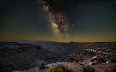 Johns Canyon 3 (somewheredowntheroadphoto) Tags: milkyway night stars color light nightime valley desert canyon southwest