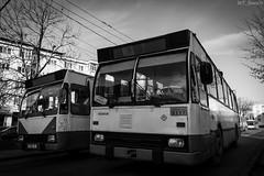 Targu Jiu Rocar 212E 0117 (WT_fan06) Tags: targu jiu targujiu romania gorj troleibuz trolleybus 0117 rocar 212e dac public transportation nikon d3400 dslr vechi oldtimer retro vintage heritage historic history