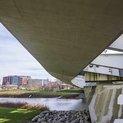 Scioto Mile_DSC9772 (GmanViz) Tags: gmanviz color sonya6000 columbus ohio architecture bridge river sciotomile