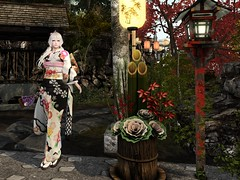 shrine visit (ღ:Yuz Lowbeamღ:) Tags: secondlife ssoc rieri town shrine newyear barberyumyum exia kimono japonica 6doo maitreya virtual world