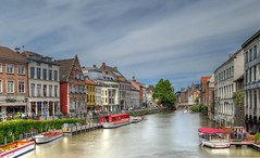 Gand - 7930 (✵ΨᗩSᗰIᘉᗴ HᗴᘉS✵89 000 000 THXS) Tags: town iphone hdr gand ghent gent belgium europa aaa namuroise look photo friends be yasminehens interest eu fr party greatphotographers lanamuroise flickering challenge
