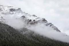 The Heights (Kirk Lougheed) Tags: alberta banff banffnationalpark canada canadian morainelake valleyofthetenpeaks autumn cloud fall landscape mountain nationalpark outdoor park sky