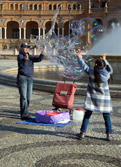 Bubble Blower (David Gange) Tags: bubble blower story sony a7 2870mm lens action