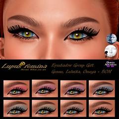 """Lupus Femina"" Eyeshadows Group Gift - Genus Lelutka/ Omega + Bom (Lucy Diavolo) Tags: lupus femina genus lelutka omega"