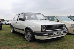 Volkswagen Golf Ryder J339OPJ (Andrew 2.8i) Tags: show classic cars car museum breakfast classics meet haynes sparkford 2 hot vw golf volkswagen mark ii mk2 hatch ryder mk hatchback germna j339opj