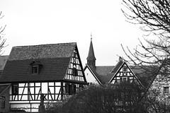 Speyrer Dächer (Manfred Hofmann) Tags: bild schwarzweis orte brd kurpfalz projekte stadtundland speyer pfalz