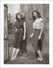Folder 0002-08 (Steve Given) Tags: socialhistory familyhistory fashion girls teens teenagers sisters