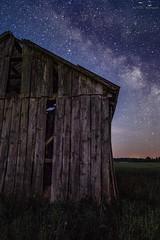 IMG_1469 (Artur Surgał) Tags: polska drogamleczna noc nocneniebo krainabugu nadbużańskiparkkrajobrazowy kiełpiniec widok krajobraz stodoła szopa gwiazdy canon poland night astrophotography nightshot stars barn scenery landscape milkyway