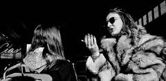 They can talk. (Baz 120) Tags: candid candidstreet candidportrait city contrast street streetphoto streetcandid streetportrait strangers rome roma ricohgrii europe women monochrome monotone mono noiretblanc bw blackandwhite urban life portrait people provoke italy italia grittystreetphotography faces decisivemoment