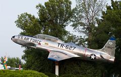 51-89627 T-33A, Oshkosh (wwshack) Tags: airventure eaa eaaairventure kosh lockheed osh oshkosh p80 shootingstar t33 usairforce usa unitedstates whittmanregional wisconsin