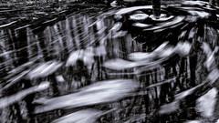 Au coeur de la tourmente (Un jour en France) Tags: canoneos6dmarkii canonef1635mmf28liiusm reflet eau noiretblanc noiretblancfrance black longexposure monochrome eos
