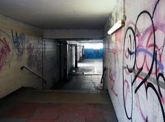subway (chrisinplymouth) Tags: wall subway thoroughfare walkway underpass pedestrian plymouth devon england uk city plain cw69x xg explored inexplore
