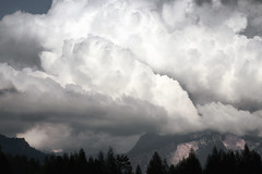 storm.scale (Matt_étranger) Tags: storm stormy perturbation cloud cloudy sky landscape mountain trees tele dolomites wilderness wild nature entropy dynamism dramatic gothic dark mood thunder atmosphere alps italy