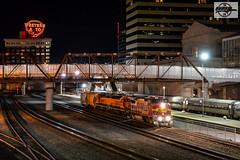 Westbound BNSF Local Train at Kansas City, MO (Mo-Pump) Tags: train railroad railfan railroader railway railroading railroads locomotive