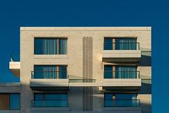 Top light (jefvandenhoute) Tags: belgium belgië antwerpen light houses geometric nieuwzuid