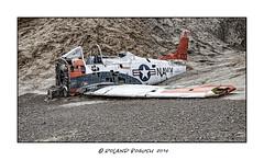 Hard landing - airplane in the desert (Roland Bogush) Tags: lasvegas sonyrx100mk7 techatticupgoldmine